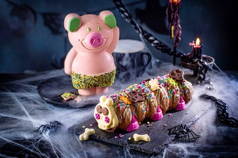 M&S Halloween food range: Percy and Colin get spook-tastic makeovers