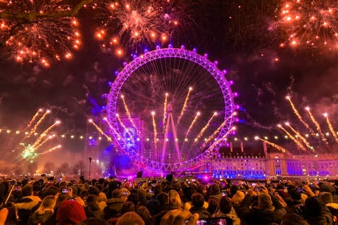 Where to celebrate New Year in London: The best places to wave goodbye to 2020