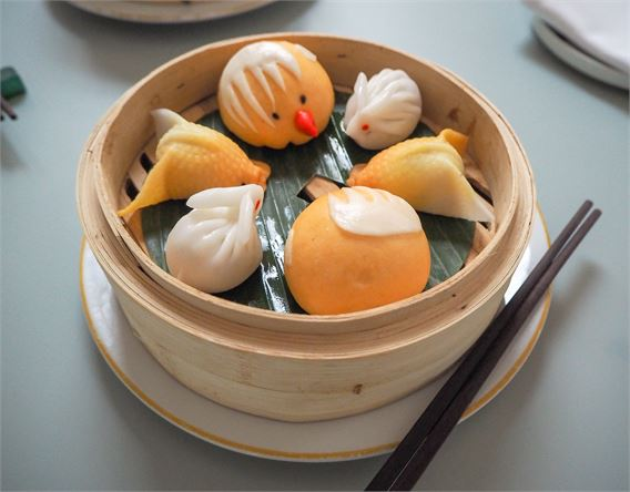 Easter dim sum at Duddell's