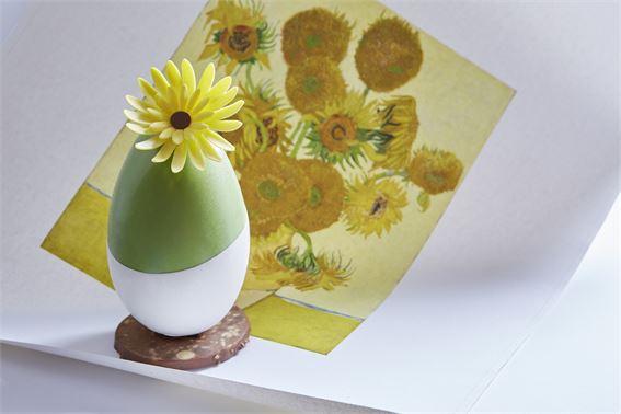 Van Gogh Easter egg at Rosewood London