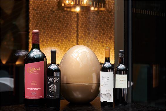 Wine Easter egg hunt at Gaucho