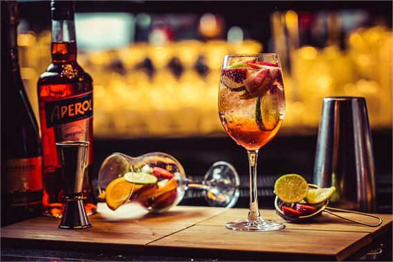 Aperol Spritz brunch at The Piano Works