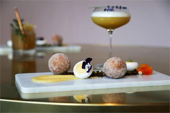 Creme egg doughnuts at Vivi