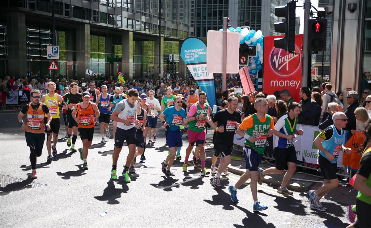 Where to eat and drink along the London Marathon route