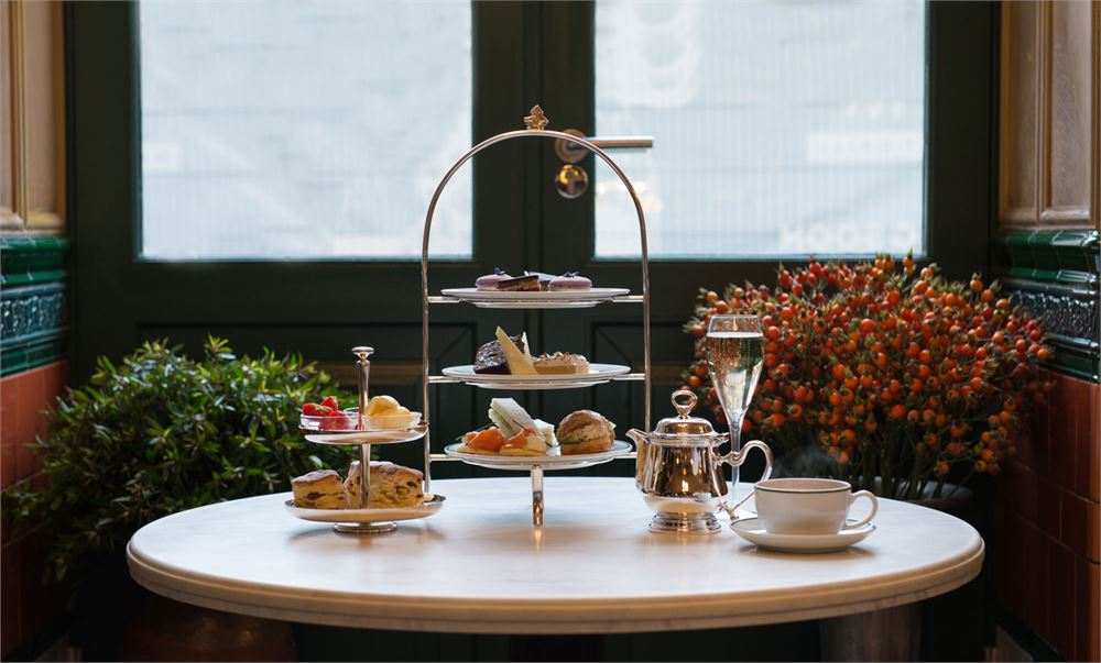 The Ivy Market Grill afternoon tea