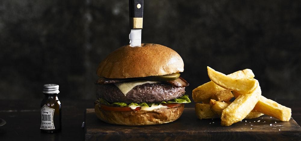 Balans Soho Society burger