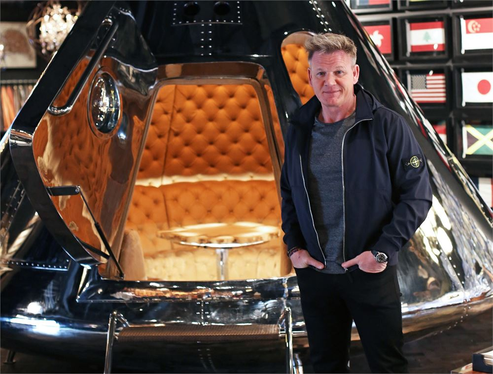 Gordon Ramsay shoots for the stars with his latest private dining space