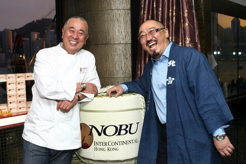 The chef-owner of Nobu is hosting two exclusive dinners in London