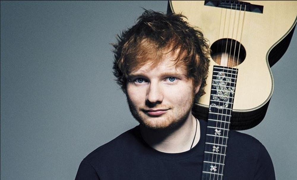 Um, did Ed Sheeran just get married?
