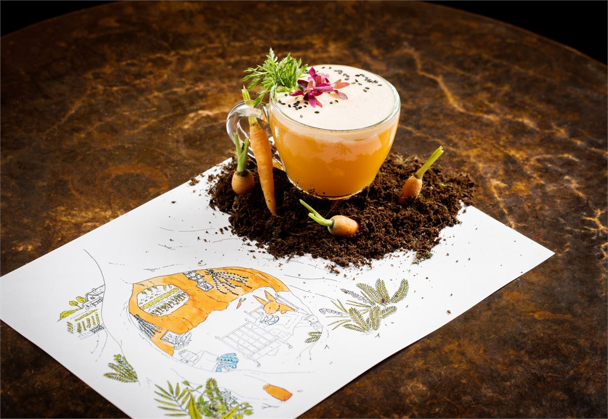 These cocktails are inspired by your favourite childhood tales