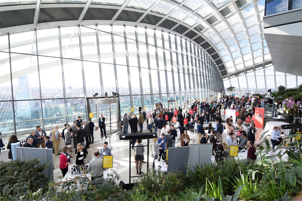 Spain's wines find a fabulous showcase at Sky Garden