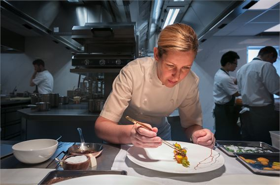 Chef Clare Smyth of Core