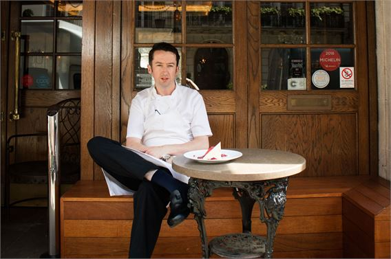 Chef Aidan McGee of Corrigan's Mayfair