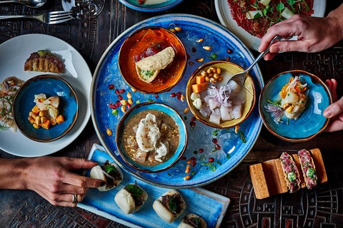 Win dinner for two with a wine pairing at COYA Angel Court, City