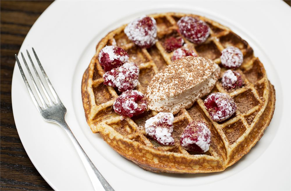 Where to eat delicious waffles in London