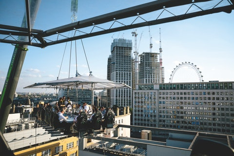 Enjoy brunch naked 100ft in the air (yes, really)