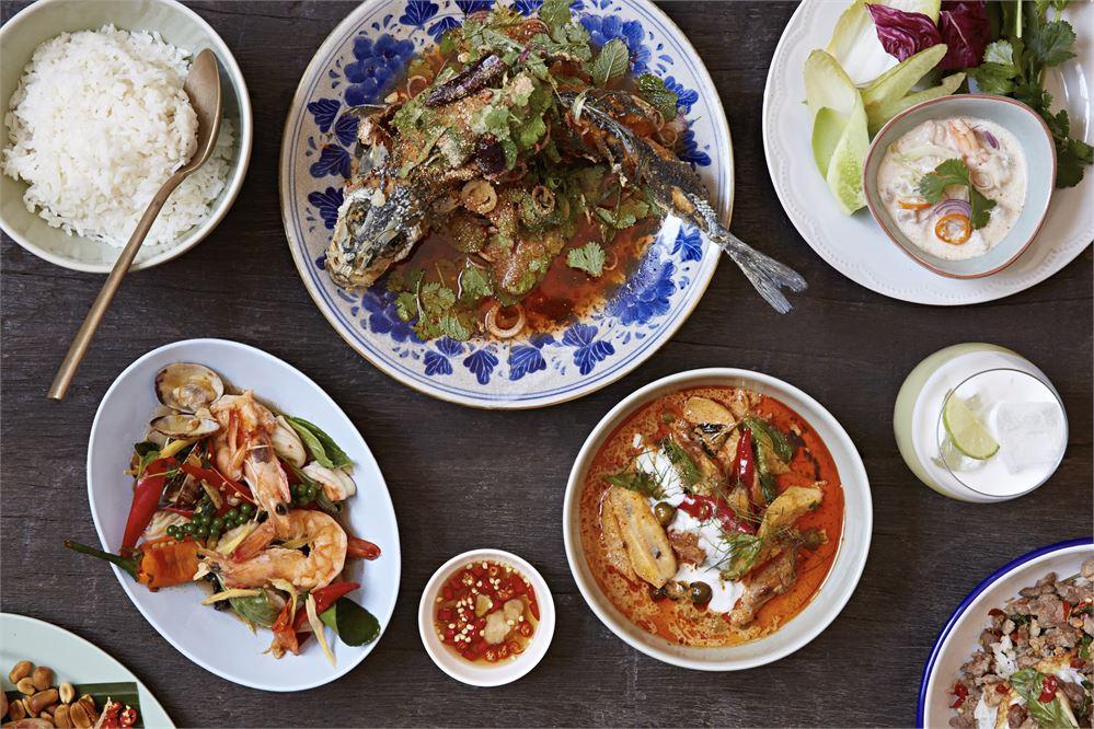 The food at Som Saa Spitalfields