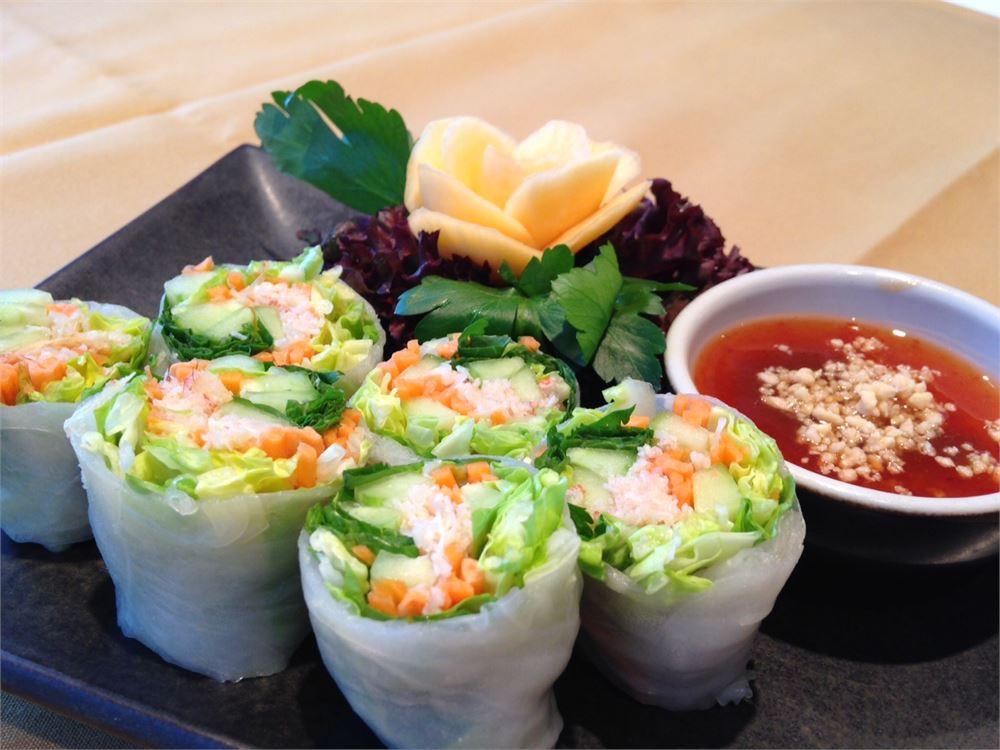 The food at Nipa Thai in Bayswater