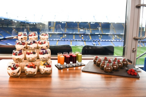 Club Chelsea is giving you the chance to dine like a world-class footballer