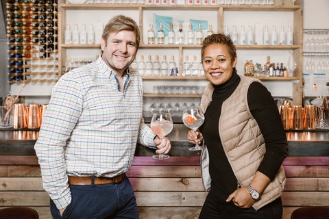 Monica Galetti launches 'Island Queen' gin with Salcombe Gin