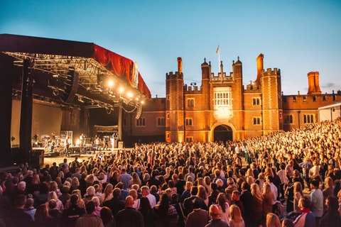 Corporate VIP packages at Hampton Court Palace Festival have been announced – and they're looking fantastic