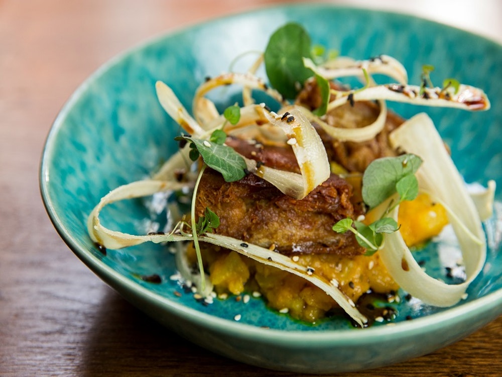 Win a three-course dinner for four, including a bottle of wine, at Lima London