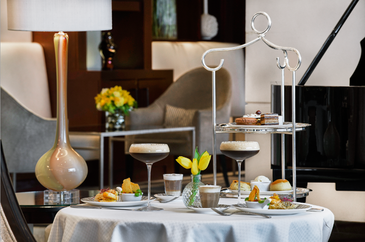 A London hotel is serving an afternoon 'tea' featuring four coffees