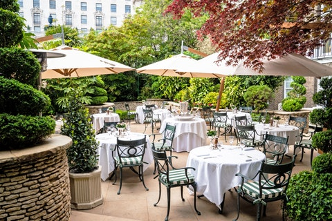 The Ritz unveils its Secret Garden Bar