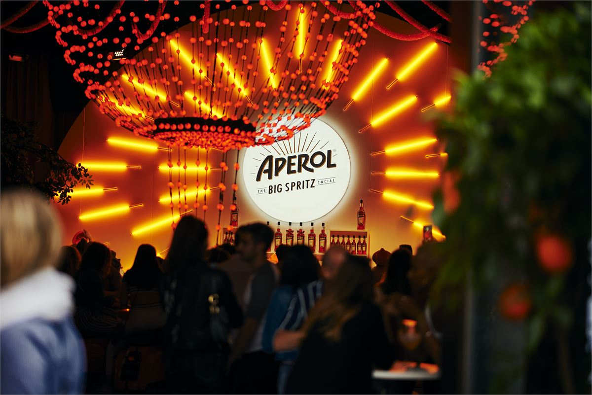 Aperol is throwing two huge parties to celebrate turning 100