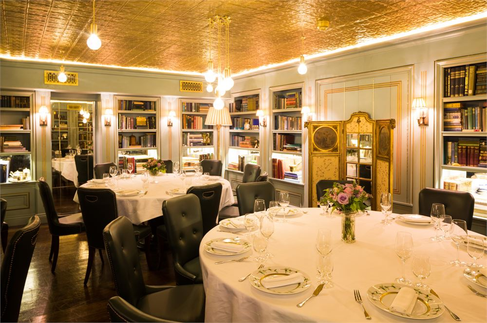 A wedding at Bentley's restaurant London