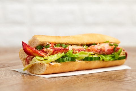 You can now get a lobster roll at Pret