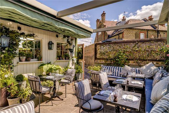 Best Restaurants in Wimbledon The Ivy Cafe Wimbledon Village