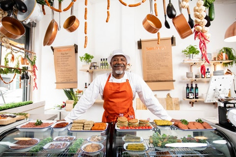 A meat-free 'butchers' opens in London today