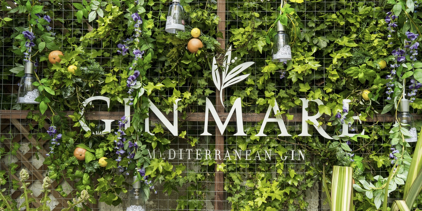 Transport yourself to the Mediterranean this summer with Gin Mare Med Gardens
