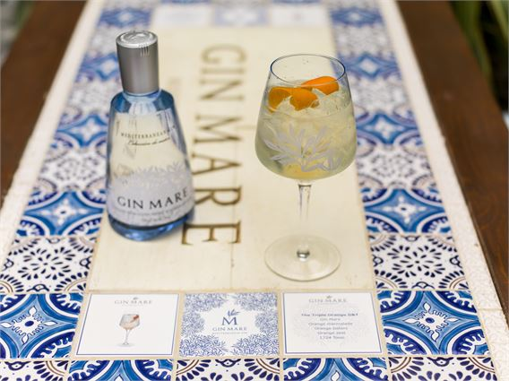 The Gin Mare Triple Orange G&T