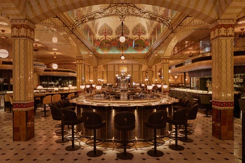 Harrods has just launched its stunning new Dining Hall