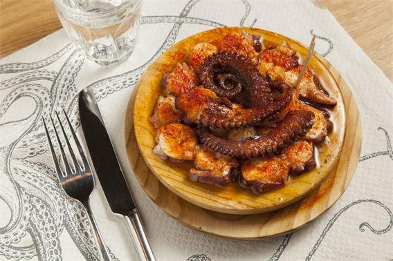 Octopus at Sabor's El Asador