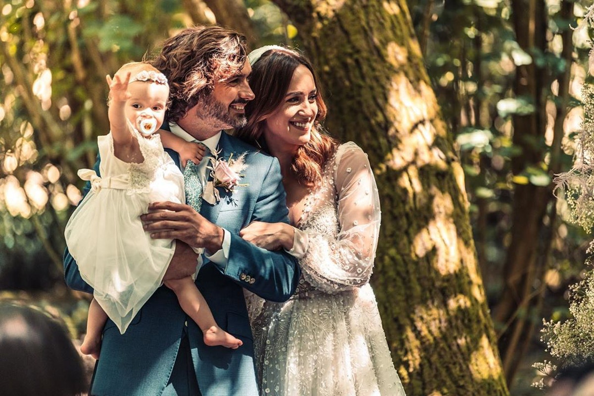 The Body Coach Joe Wicks ties the knot with Rosie Jones