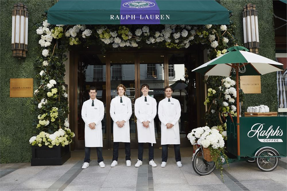 Ralph Lauren has opened a new coffee shop in Mayfair
