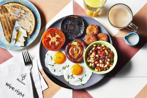 Nando's is going to start serving brunch