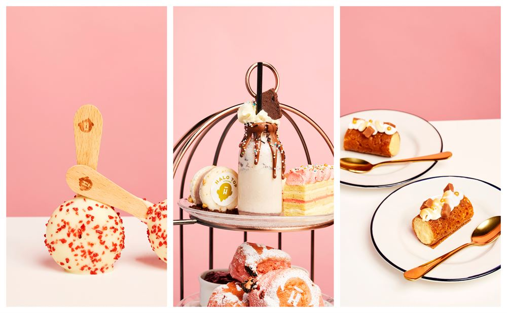 An ice cream afternoon tea has arrived in London