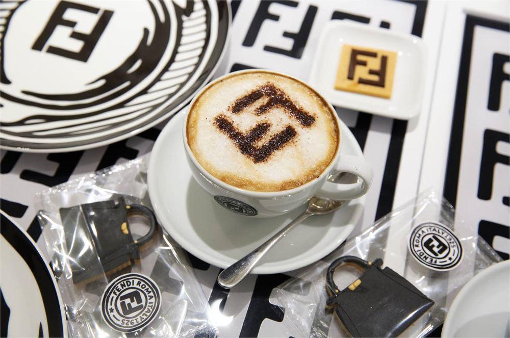 Fendi has opened a café in London
