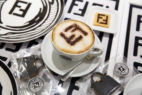Fendi has opened a café in London