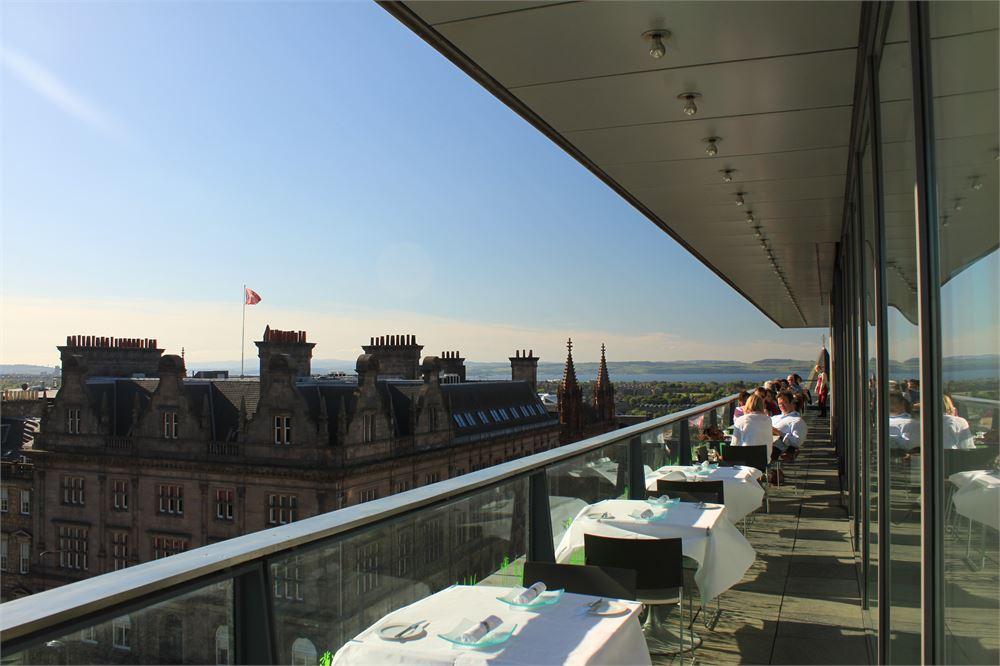 Must-visit rooftop bars in Edinburgh