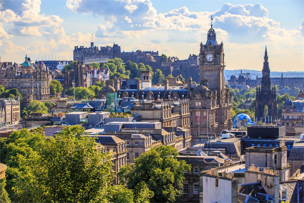 Must-visit rooftop bars in Edinburgh