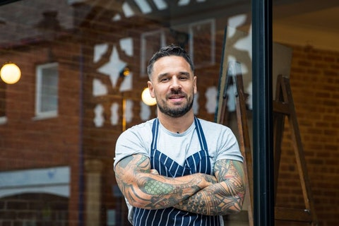 A documentary about chef Gary Usher is coming to Channel 4