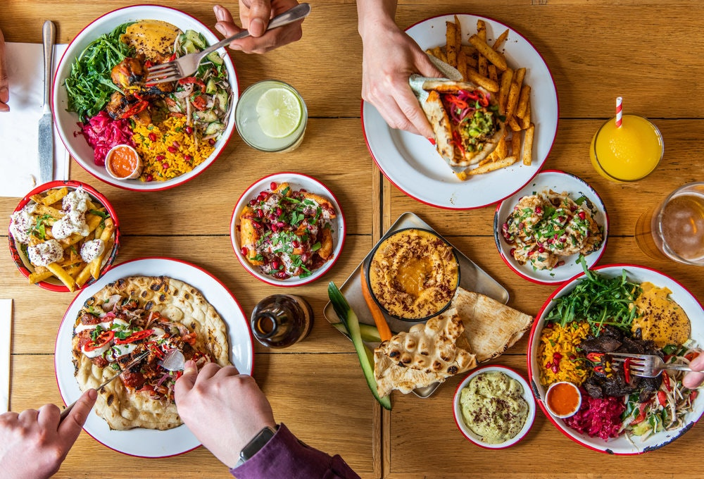 Image result for meal in a helicopter
