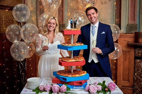 Getting hitched soon? Domino's can now cater your wedding
