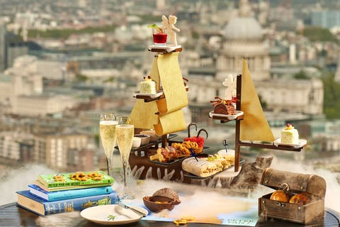 16 of the best themed afternoon teas in London