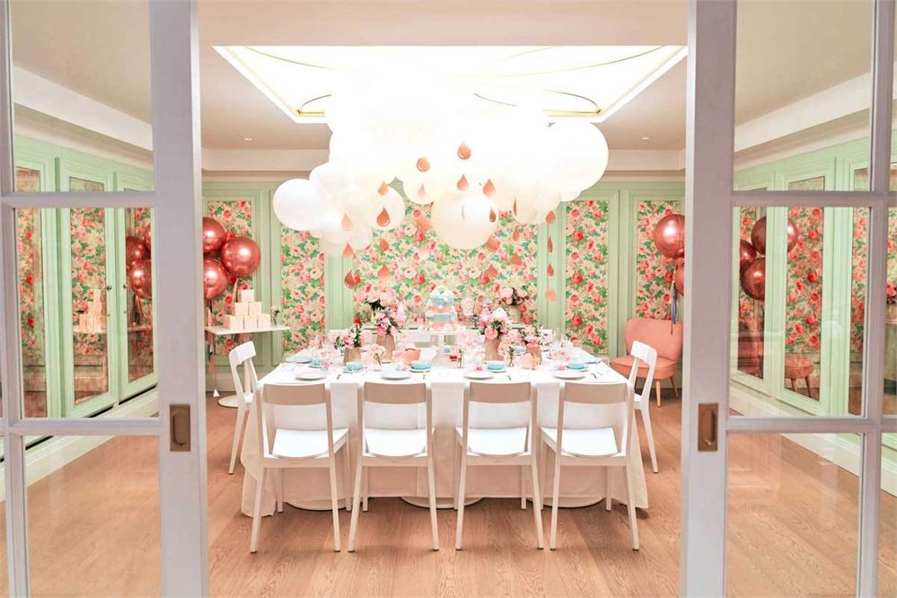 Peggy Porschen has opened a new, pink private dining room in Chelsea